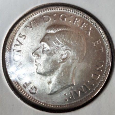 Silver, Quarter, 1943