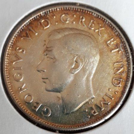 Silver, Quarter, 1946
