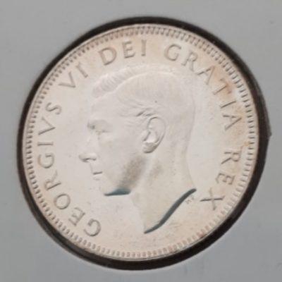 Silver, Quarter, 1948