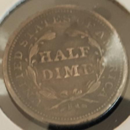 1853 Silver Half Dime