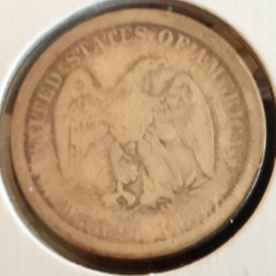 Silver, US, Twenty Cents