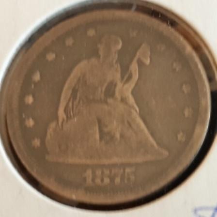 Silver, US, Twenty cents
