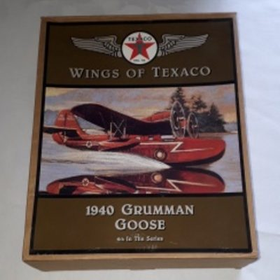 Texaco, Grumman Goose, Diecast, Bank