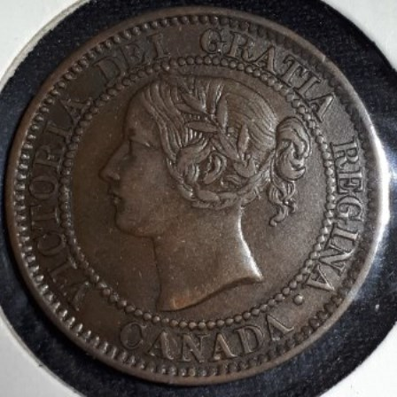 Canadian, Penny, 1858