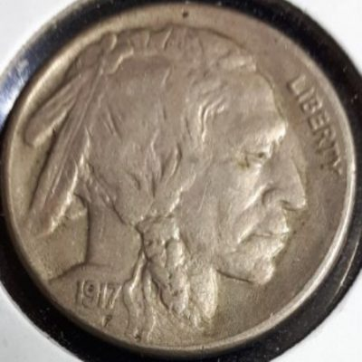US, Nickel, Buffalo, 1917S