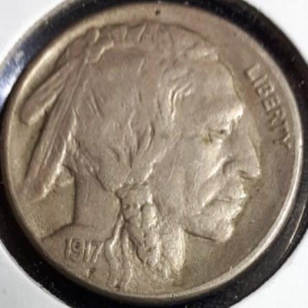 US, Nickel, Buffalo, 1917S