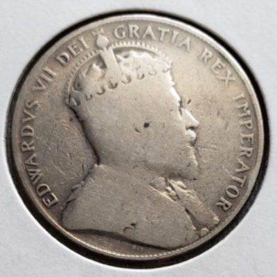 1907 Canadian Half Dollar