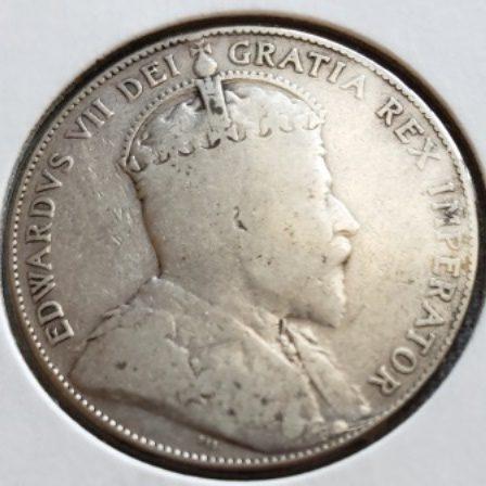 1910 VG EL Silver Half Dollar