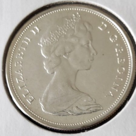 1965 MS63 Canadian Half Dollar