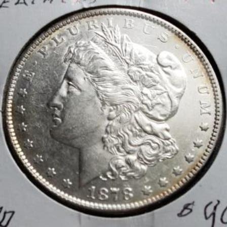 1878 Silver US Dollar