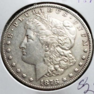 1878S Silver US Dollar